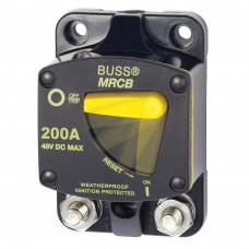 Blue Sea 7149 Bussman 187 switch circuit breaker