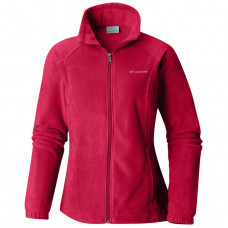 Women's fleece jacket Columbia Benton Springs red size S (US) New