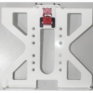 Car dock mount for Panasonic Toughbook CF-19 white