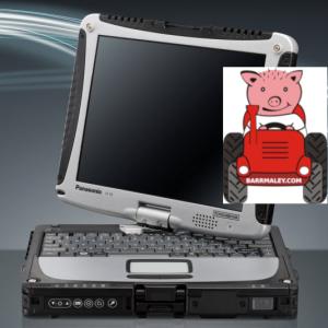 Защищенный ноутбук Panasonic Toughbook CF-19 MK2 4ГБ 160ГБ